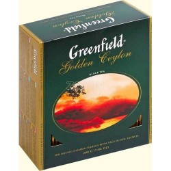 Greenfield Golden Ceylon 100 пакетиков