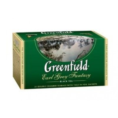 Greenfield Earl Grey Fantasy 25 пакетиков
